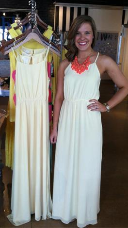 Ana Banana Dress