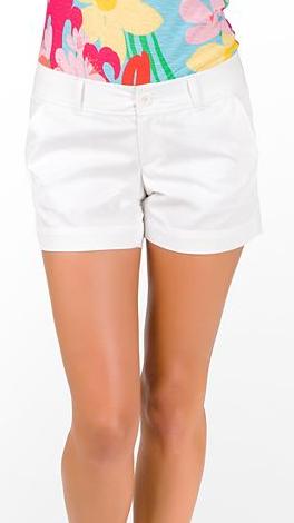 Lilly Pulitzer Callahan Shorts, White