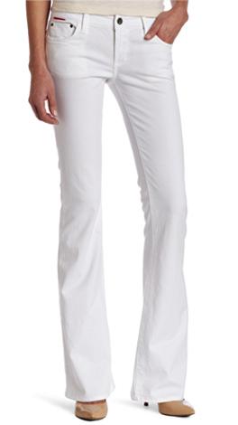 Easy Flare White Jean