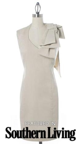 Judith March Classic Linen Dress