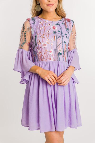 Secret Garden Dress, Lavender