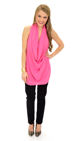 First Date Top, Pink