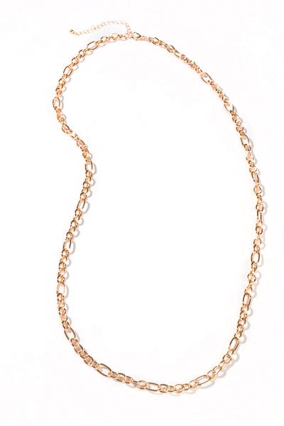 Single Layer Long Chain, Gold