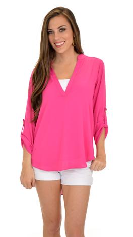 Van Camp Top, Pink
