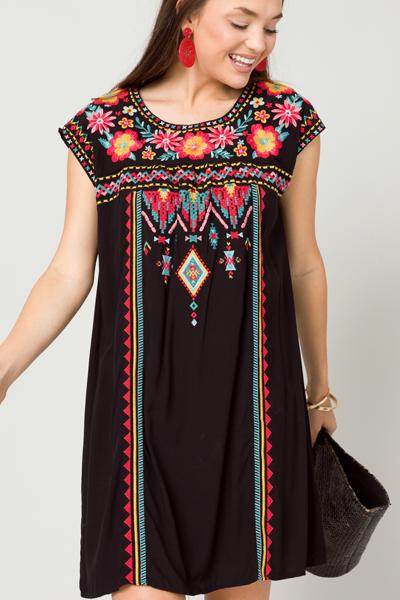 Make It Bold Dress, Black