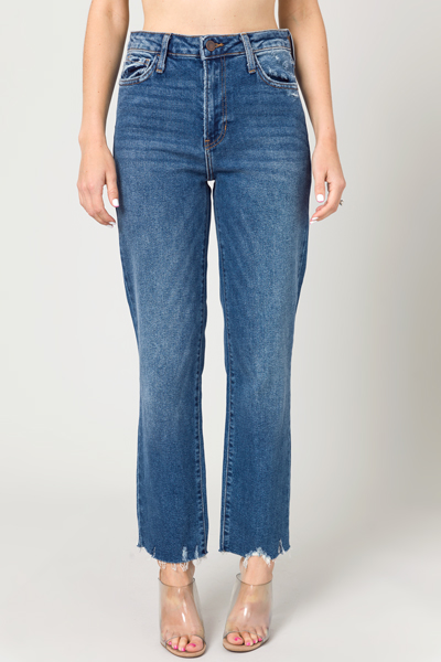 Vintage Straight Jeans, Dark