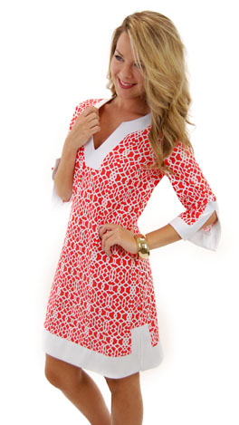 Jude Connally Holly Dress, Orange