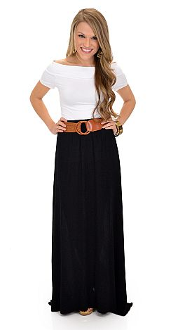 Braziliant Skirt, Black