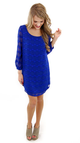 Boaz Dress, Blue