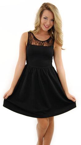 Dallas Dress, Black