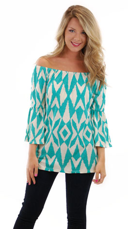 Day Dreamer Top, Mint