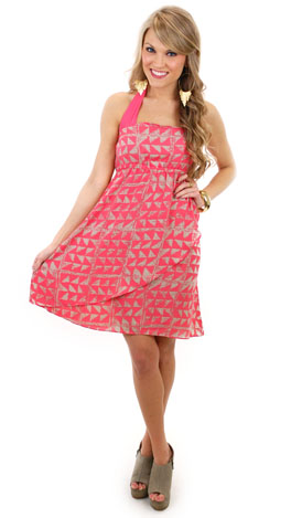 Wrap-sody Halter Dress