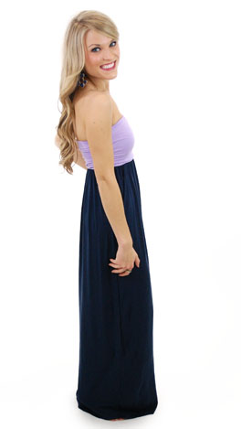 Two Tone Tube Maxi, Purple