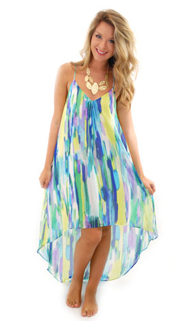 Greetings from Anguilla Dress