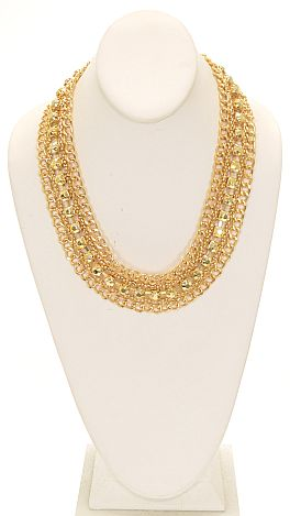 Golden Road Necklace
