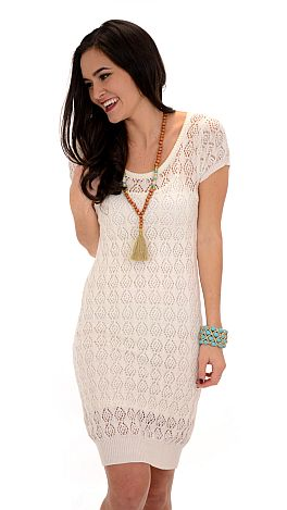 Ladylike Sweater Dress