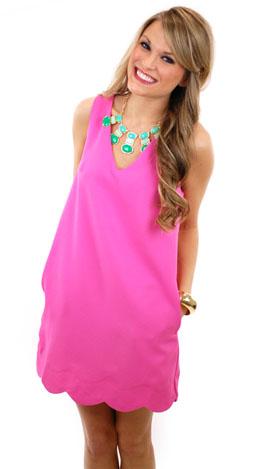 Lah Lah Land Dress, Pink