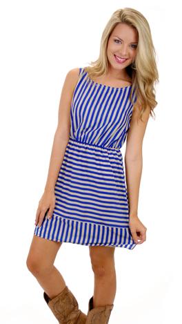 Bo Jingles Dress, Blue