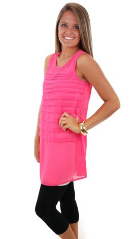 Latitude Tunic, Pink