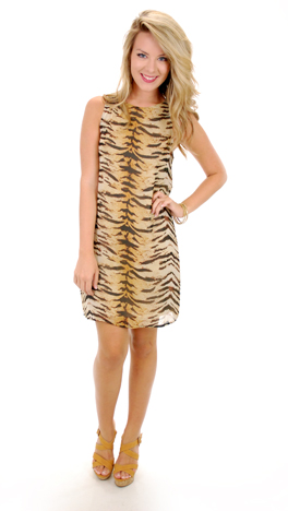 Tiger Club Dress