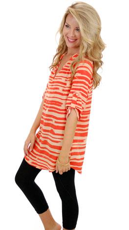 Cooper Tunic, Orange