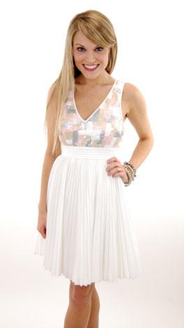 White Waltz Dress