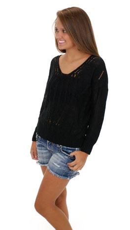 Tender Lovin Sweater, Black