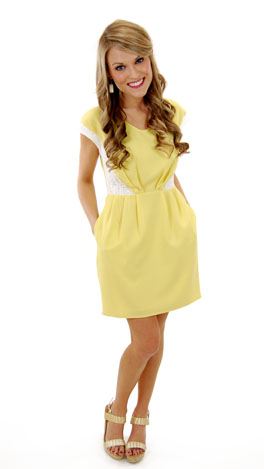 Lemon & Lace Dress