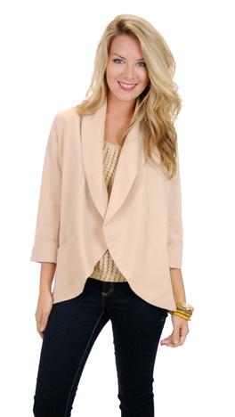 Fabulous Comes Standard Jacket, Vanilla
