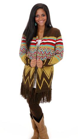 Fringe Fest Sweater