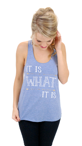 Judith March What It Is Tank