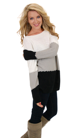 Trifecta Sweater, Black
