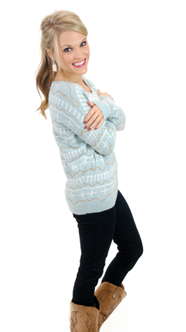 The Pearly Gates Sweater, Mint