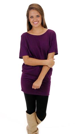 Tastefully Simple Tunic, Purple