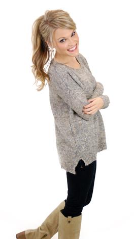 Weave Me Alone Sweater