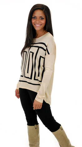 Lost in the Maze Sweater