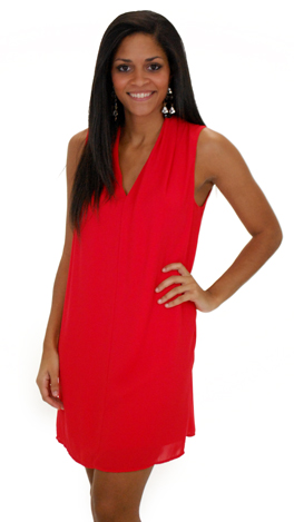 Valora Dress, Red