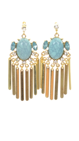 Keep it Classy Earring, Turquoise