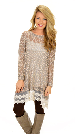 Emma Kate Lace Tunic