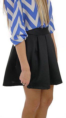 Scuba Skirt, Black