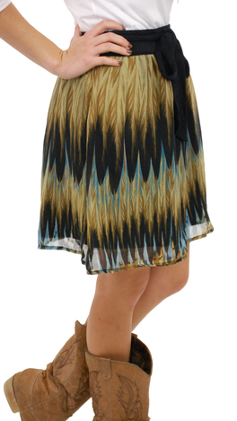 Feather Duster Skirt