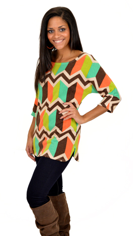 Boldly Bright Sweater