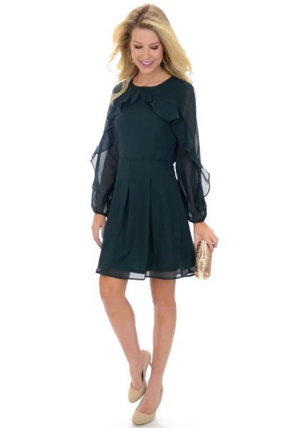 Belmont Dress, Green
