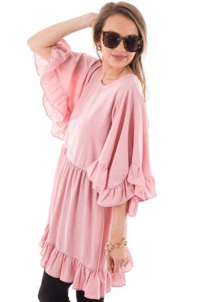 Stealing Hearts Dress, Pink