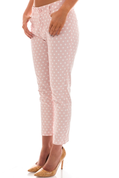 Dotted and Darling Pants, Pink