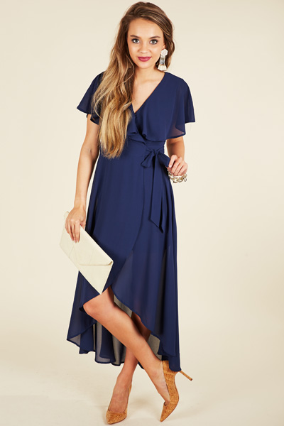 Sunset Dance Maxi, Navy