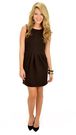 Fanned Seams Dress