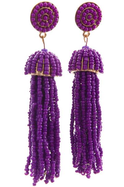 Cruise Cutie Earring, Purple