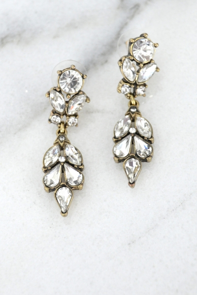 Frosted Glitz Earring