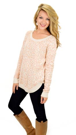 Lady Leopard Sweater